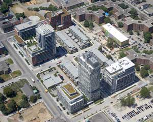 Revitalization of the Regent Park area and the remains of its residual stigma